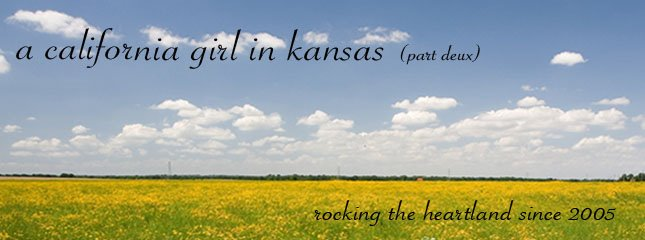 A California Girl in Kansas, Part 2