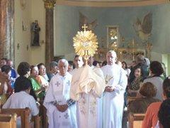Igreja de Uberaba - Festa de Corpus Christi