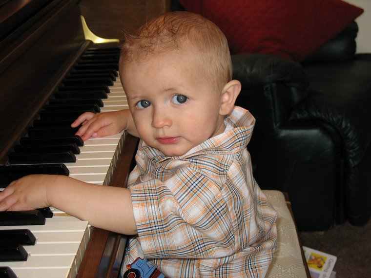 Josh at the Piano