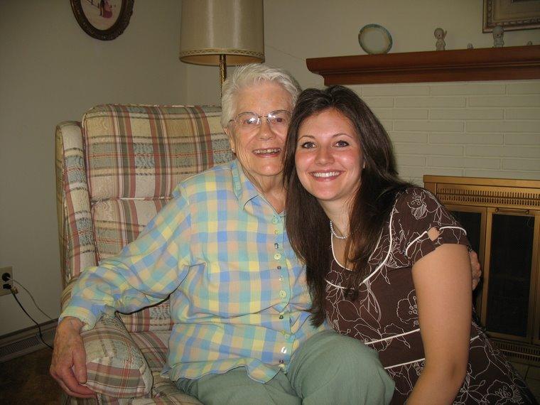 Visiting Grandma Stephens