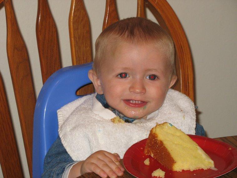 Joshua's 1st birthday