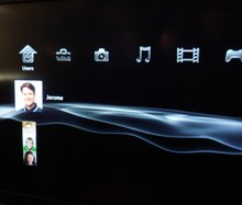 Scendix TV UI