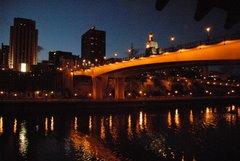 St. Paul Skyline & Mississippi River