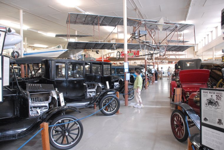 The early years of cars and airplanes