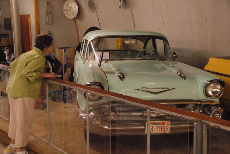 Mary finds her first car - 1957 Chevy
