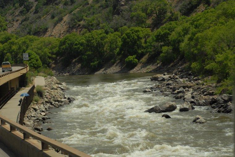Colorado River at Vail