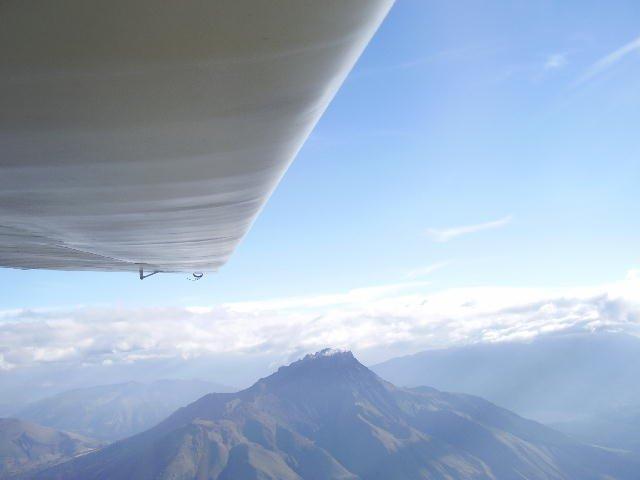 Vuelo de onda Ibarra a 5300 m
