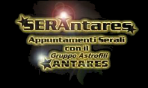APPUNTAMENTI CON ANTARES
