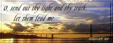 Show me Thy Ways!