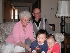 Grandma and Grandpa Chyrchel