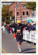 PEI 1/2 marathon Finish