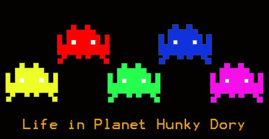 Life in Planet Hunky Dory