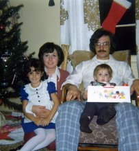 Me & my brother Tom with our parents