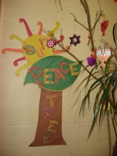 Our Peace Tree Sign