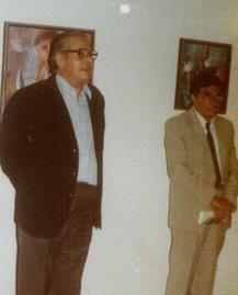 Foto del recuerdo/Exposición pictórica C.V.Las Dunas 1981