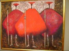 Pintura del grupo Indigenista