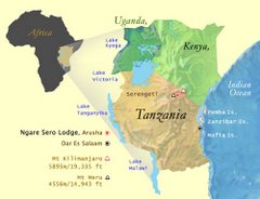 Tanzania iko wapi?  (Where is Tanzania?)