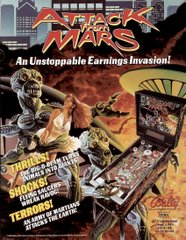 Attack from Mars Original Flyer (front)