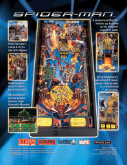 Spiderman Original Flyer (back)