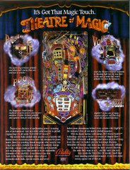 Theatre of Magic Original Flyer (back)