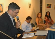 """Presentación del poemario """"Insula Presentida"""", 2005."""