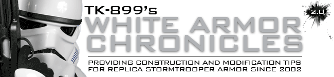 TK-899&#39;s White Armor Chronicles