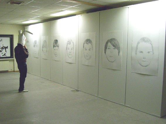 Vue d'exposition. LX5 Homebase, 2007