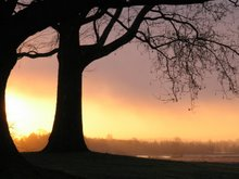 Een mooie ochtend op het Bastion Oranje