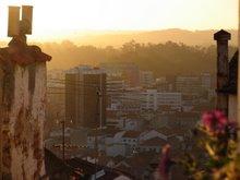 Avondlicht over Coimbra