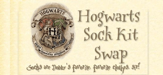 Hogwarts Sock Kit Swap