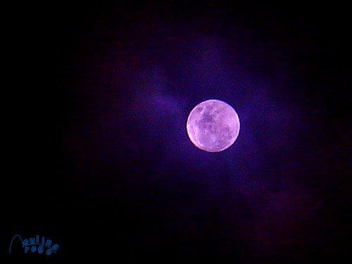 A lua e eu....