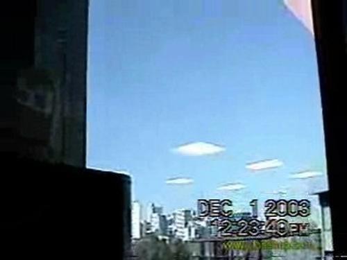 Formação de nuvens suspeita...