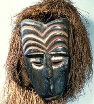 Okwa Mkpuru - mask used in a series of Igbo-related festivals