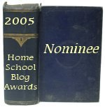 "Nominated for ""Best Canadian Homeschool Blog"""