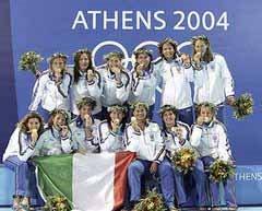 Itália Campeã das Olimpíadas de Atenas, 2004