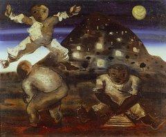 Meninos pulando carniça (Portinari, 1940)