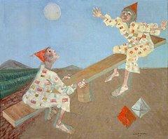 Palhacinhos na gangorra (Portinari, 1957)