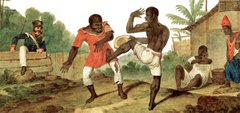 Negroes Fighting (Augustus Earle, 1822)