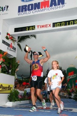 Ironman World Championships Finish