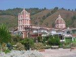Canaguá,  vista desde la plaza