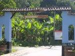 entrada del pueblo de canagua- merida