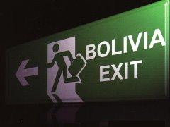 Bolivianos se van