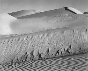 White Dunes, Oceano, California (Edward Weston, 1936)
