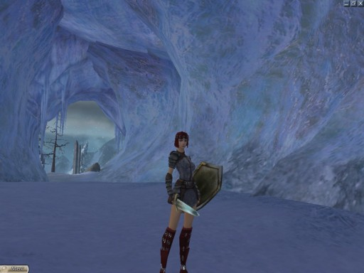 La caverna de hielo