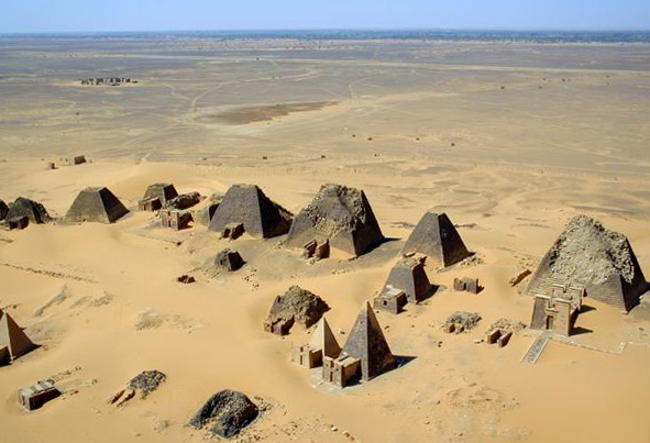 Pyramids in Nothern Sudan