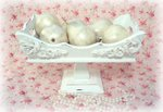 So Shabby Pink Old Wooden Compote