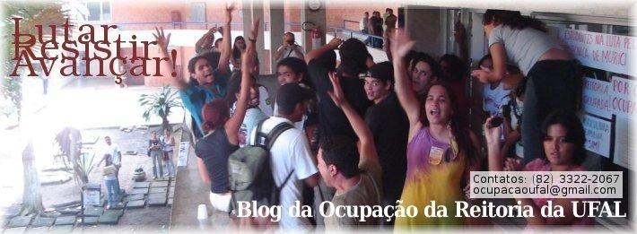 Blog da Ocupação da Reitoria da UFAL