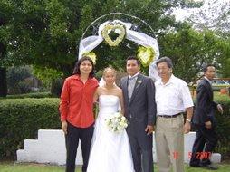 Elias, Nori, Leo y mi papa.