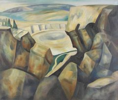 """Windy Peaks"" by John Edward Thompson"