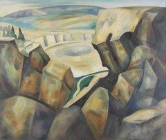 """""""Windy Peaks"""" by John Edward Thompson"""